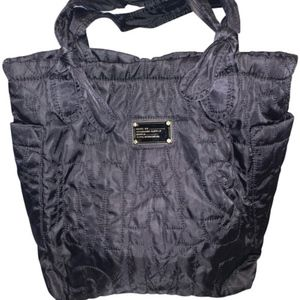 Marc Jacobs Quilted Black Nylon Tote